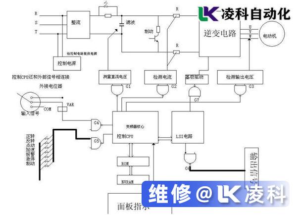 变频器辅助控制电路