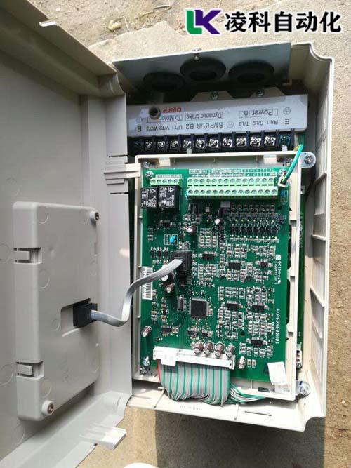 东元变频器输出电压故障
